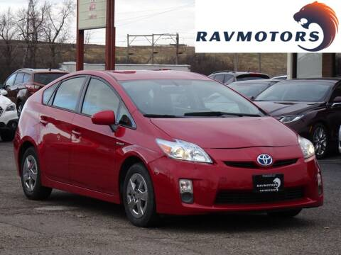 2010 Toyota Prius for sale at RAVMOTORS in Burnsville MN