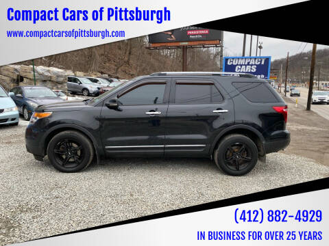 2013 Ford Explorer for sale at Compact Cars of Pittsburgh in Pittsburgh PA