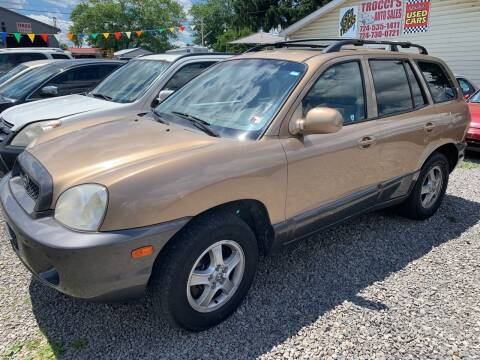 2004 Hyundai Santa Fe for sale at Trocci's Auto Sales in West Pittsburg PA