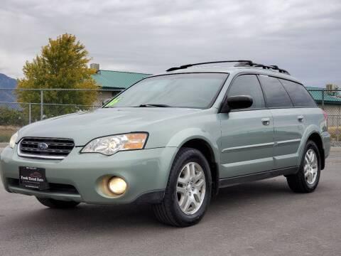 2006 Subaru Outback for sale at FRESH TREAD AUTO LLC in Springville UT