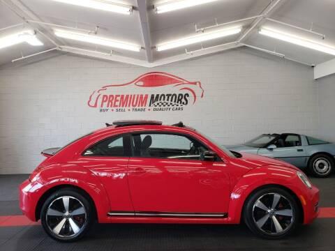 2012 Volkswagen Beetle for sale at Premium Motors in Villa Park IL