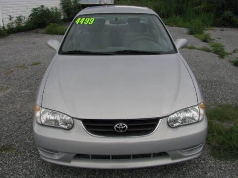 2002 Toyota Corolla for sale at Iron Horse Auto Sales in Sewell NJ