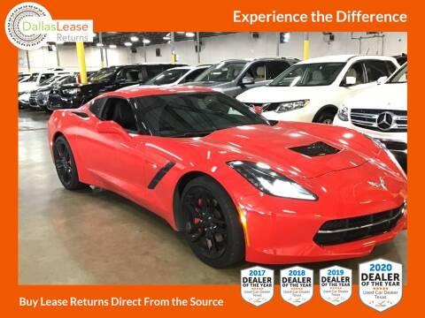 2019 Chevrolet Corvette for sale at Dallas Auto Finance in Dallas TX