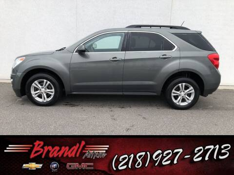 2013 Chevrolet Equinox for sale at Brandl GM in Aitkin MN