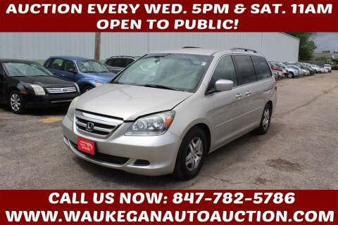 2006 Honda Odyssey for sale at Waukegan Auto Auction in Waukegan IL