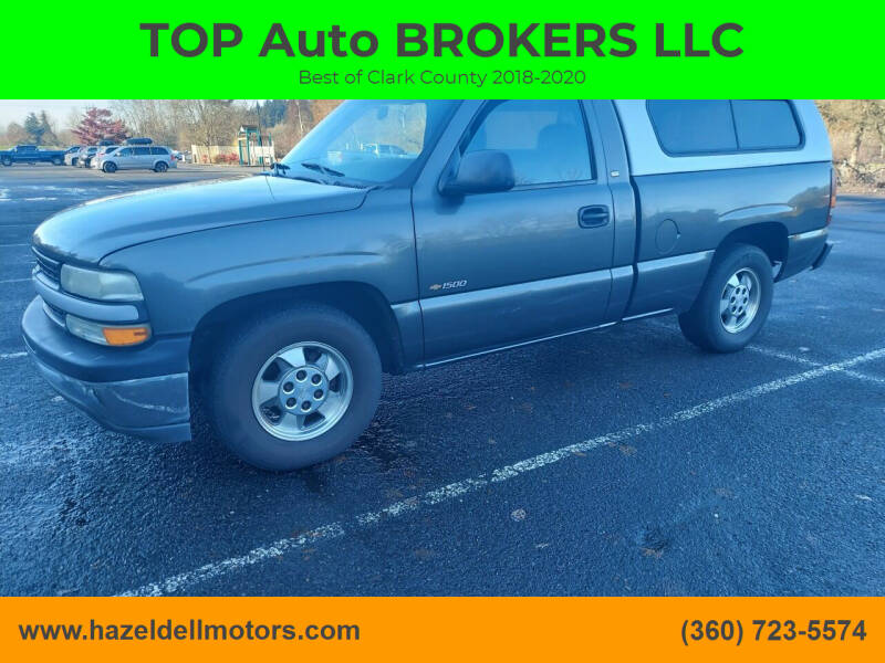 2001 Chevrolet Silverado 1500 for sale at TOP Auto BROKERS LLC in Vancouver WA