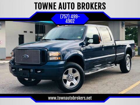 2005 Ford F-350 Super Duty for sale at TOWNE AUTO BROKERS in Virginia Beach VA