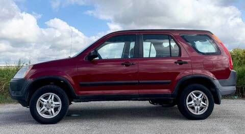 2002 Honda CR-V for sale at Palmer Auto Sales in Rosenberg TX