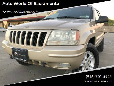 2000 Jeep Grand Cherokee for sale at Auto World of Sacramento Stockton Blvd in Sacramento CA