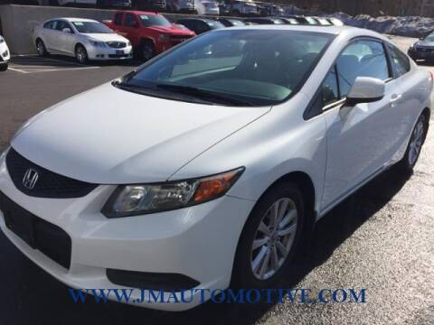 2012 Honda Civic for sale at J & M Automotive in Naugatuck CT