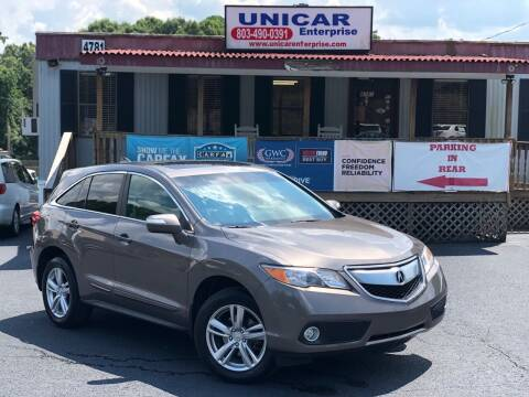 2013 Acura RDX for sale at Unicar Enterprise in Lexington SC