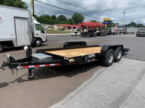 2021 Cam Superline 18ft Full Deck Tilt  for sale at Smart Choice 61 Trailers in Shoemakersville PA