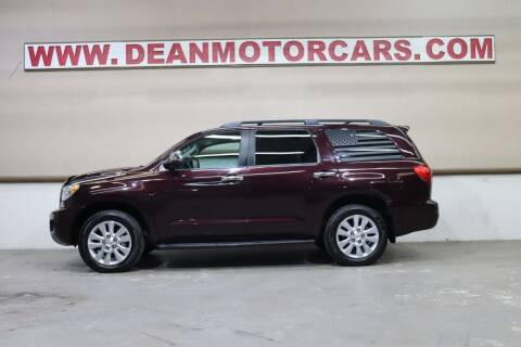 2013 Toyota Sequoia for sale at Dean Motor Cars Inc in Houston TX