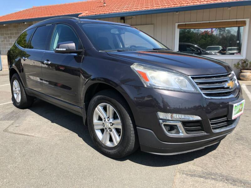 2013 Chevrolet Traverse for sale at Martinez Truck and Auto Sales in Martinez CA