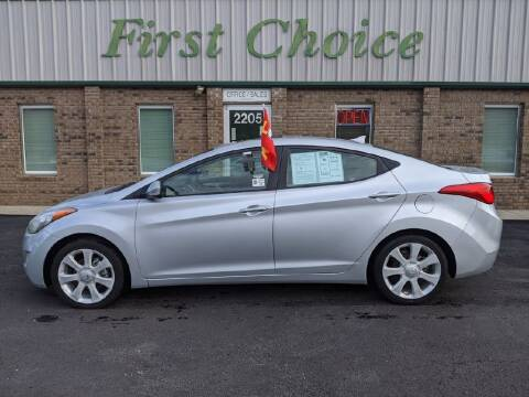 2011 Hyundai Elantra for sale at First Choice Auto in Greenville SC