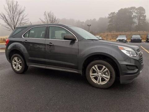 2017 Chevrolet Equinox for sale at CU Carfinders in Norcross GA