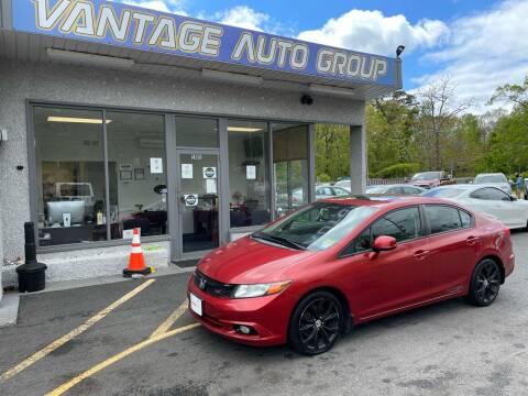 2012 Honda Civic for sale at Vantage Auto Group in Brick NJ