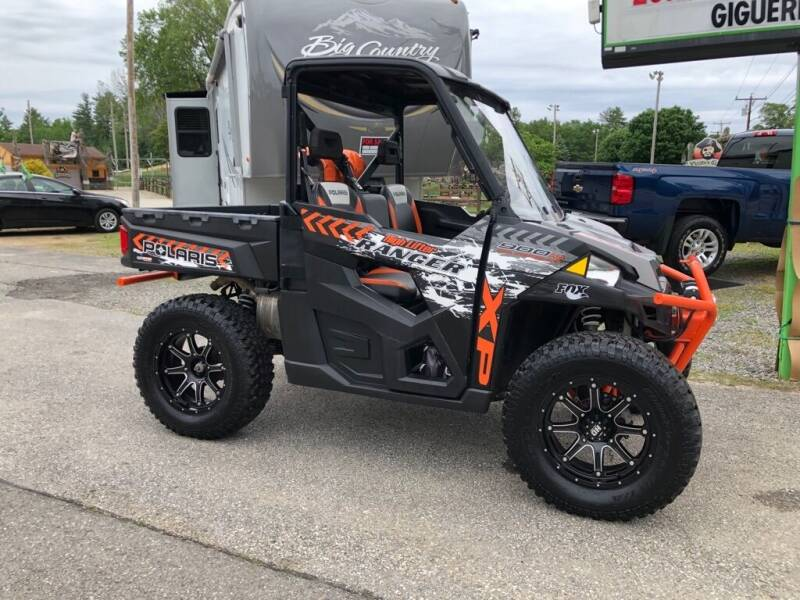 2016 Polaris RANGER 900HO for sale at Giguere Auto Wholesalers in Tilton NH