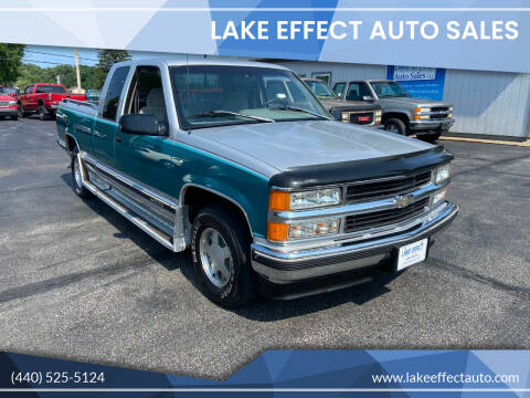 1996 Chevrolet C/K 1500 Series for sale at Lake Effect Auto Sales in Chardon OH
