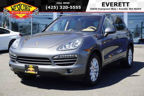 2012 Porsche Cayenne for sale at West Coast Auto Works in Edmonds WA