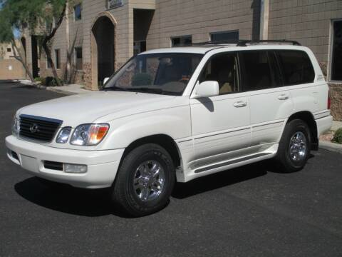2002 Lexus LX 470 for sale at COPPER STATE MOTORSPORTS in Phoenix AZ