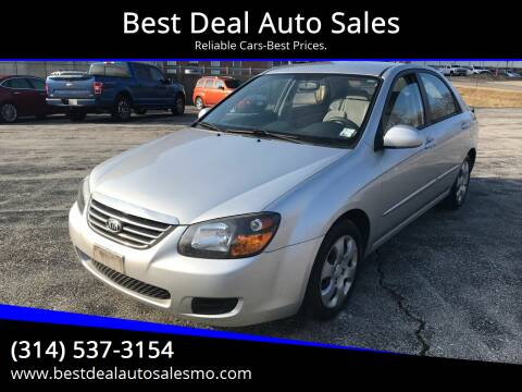 2009 Kia Spectra for sale at Best Deal Auto Sales in Saint Charles MO