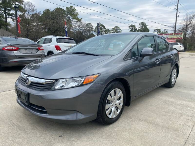 2012 Honda Civic for sale at Auto Land Of Texas in Cypress TX