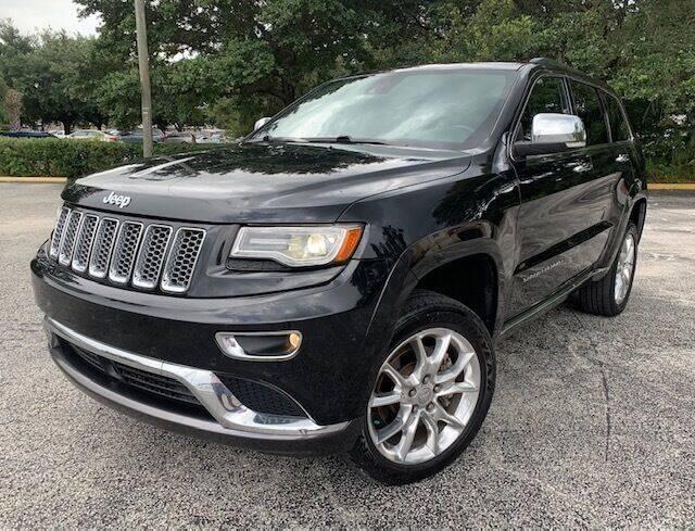 2014 Jeep Grand Cherokee for sale at CHECK  AUTO INC. in Tampa FL