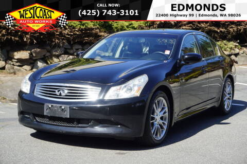 2007 Infiniti G35 for sale at West Coast Auto Works in Edmonds WA