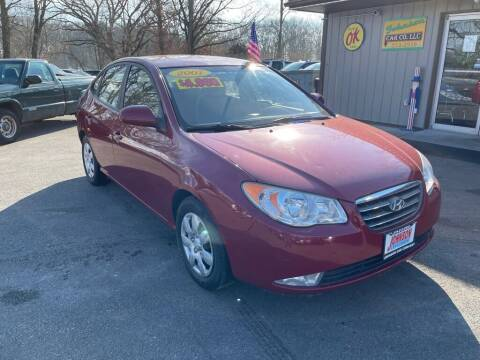2007 Hyundai Elantra for sale at Johnson Car Company llc in Crown Point IN