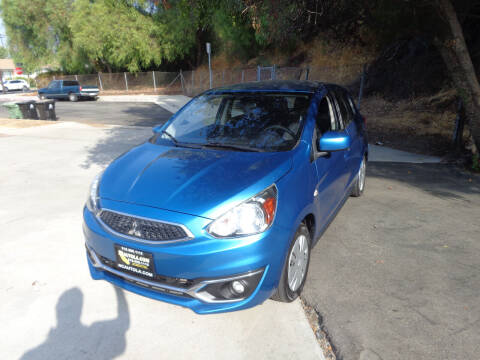 2017 Mitsubishi Mirage for sale at N c Auto Sales in Los Angeles CA