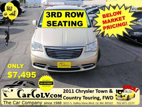 2011 Chrysler Town and Country for sale at The Car Company in Las Vegas NV