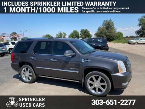 2010 Cadillac Escalade for sale at Sprinkler Used Cars in Longmont CO