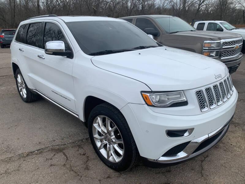 2014 Jeep Grand Cherokee for sale at Ol Mac Motors in Topeka KS