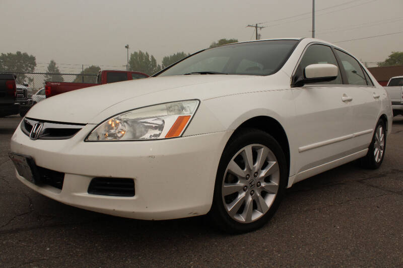 2007 Honda Accord for sale at J.K. Thomas Motor Cars in Spokane Valley WA