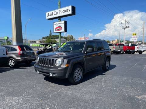 2015 Jeep Patriot for sale at Used Car Factory Sales & Service in Bradenton FL
