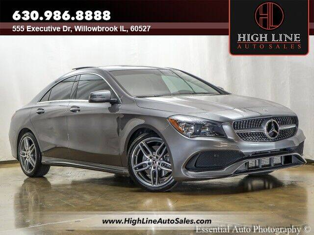 2018 Mercedes-Benz CLA for sale in Willowbrook, IL