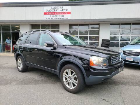 2009 Volvo XC90 for sale at Landes Family Auto Sales in Attleboro MA