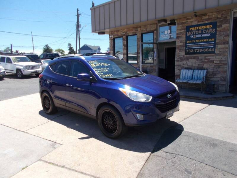 2011 Hyundai Tucson for sale at Preferred Motor Cars of New Jersey in Keyport NJ