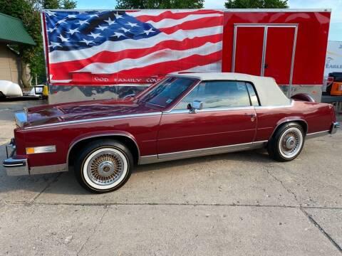 1984 Cadillac Eldorado for sale at AutoSmart in Oswego IL