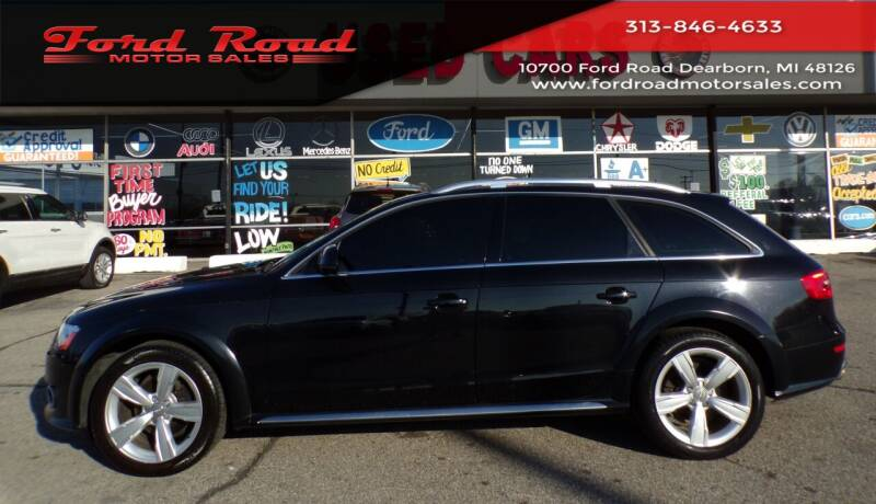 2013 Audi Allroad for sale at Ford Road Motor Sales in Dearborn MI