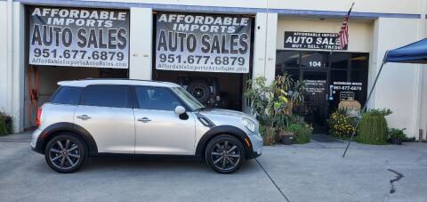 2012 MINI Cooper Countryman for sale at Affordable Imports Auto Sales in Murrieta CA