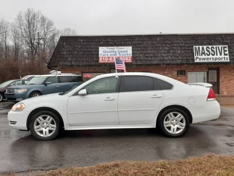 2012 Chevrolet Impala for sale at Kenny's Korner in Hartland MI