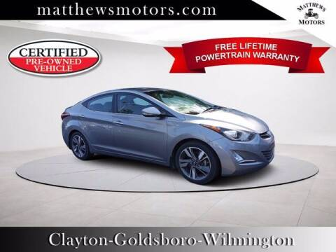 2016 Hyundai Elantra for sale at Auto Finance of Raleigh in Raleigh NC