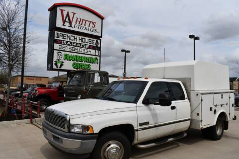 1996 Dodge Ram Pickup 3500 for sale at WHITT'S AUTO SALES, LLC in Houston TX