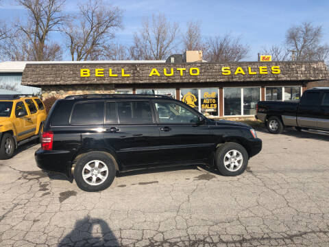 2001 Toyota Highlander for sale at BELL AUTO & TRUCK SALES in Fort Wayne IN