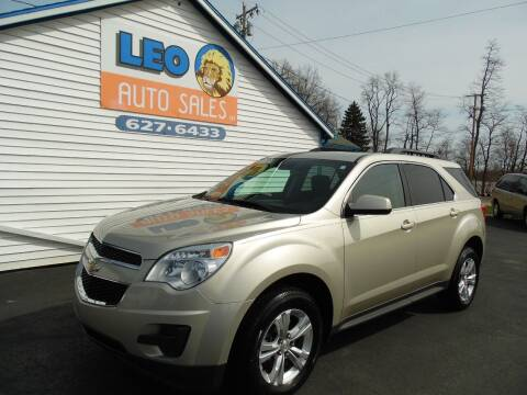 2015 Chevrolet Equinox for sale at Leo Auto Sales in Leo IN