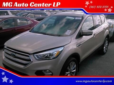 2017 Ford Escape for sale at MG Auto Center LP in Lake Park FL