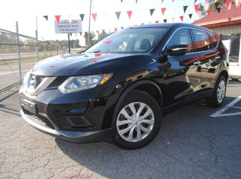 2014 Nissan Rogue for sale at Lakepoint Autos in Cartersville GA