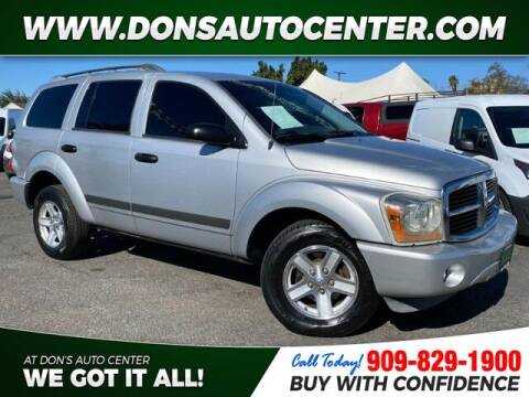 2006 Dodge Durango for sale at Dons Auto Center in Fontana CA